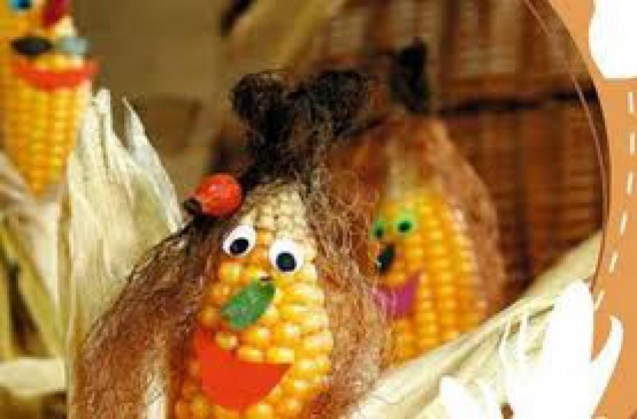 Что можно сделать из початка кукурузы поделка 94